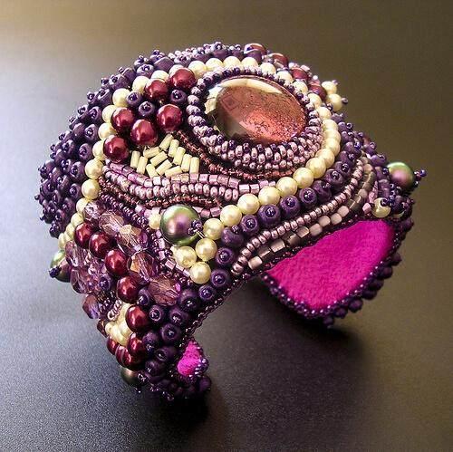 бисер вышивка плетение