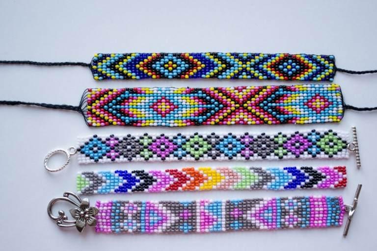 фенечки из бисера лучшие схемы плетения и уроки для начинающих