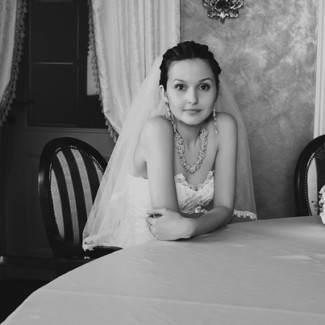 Огалала как свадебное украшение